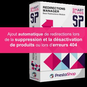 Redirection automatique des produits supprimés et désactivés sur PrestaShop